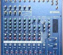 Bàn trộn âm thanh Yamaha MG124CX