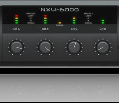 Cục đẩy công suất 4 kênh Behringer NX4-6000 EU