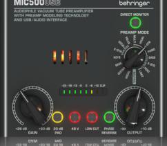 Preamplifier Behringer MIC500USB EU