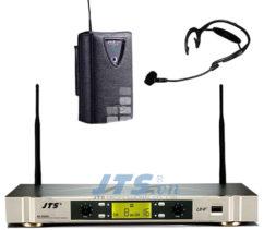 Bộ thu không dây UHF và 1 micro trùm đầu JTS US-902D/PT-850B+CX-504